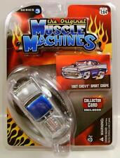 1957 '57 CHEVY BEL AIR SPORT COUPE MUSCLE MACHINES THE ORIGINAL SERIES 3 DIECAST