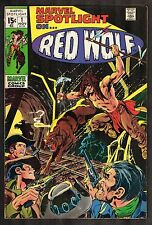 Marvel Spotlight #1 ~~ Red Wolf / Action Cover ~~ (4.5) WH