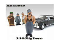 """Big Loco """"Homies"""" Figure For 1:18 Diecast Model Cars by American Diorama"""