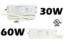 LEDupdates 24v 30w 60w Dimmable Triac LED Driver Power Supply for Strip Puck