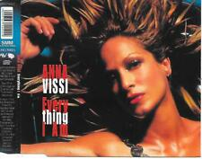ANNA VISSI - Everything i am CD-MAXI 4TR Enh Euro House 2001 (HOLLAND RELEASE!)