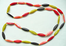 Very Eyecatching Colours - Brand New Accessorize Long Necklace - Long Beads In