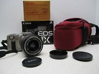 Canon IX240 EOS IX Camera w/ Sigma 28-80mm F3.5-5.6 Mini Zoom Macro Tamrac Bag
