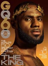 GQ Magazine November 2017 with LeBron James THE KING! on cover BRAND NEW WRAPPED