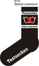 Strümpfe Socken Fun Sox Testsocken Neu