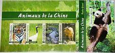 Togo 2012 Animals Animals of China Panda Bear Tiger Alligator Bird Fauna MNH