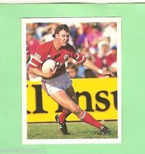 1993 SELECT RUGBY LEAGUE  STICKER - #116  PAUL McGREGOR, ILLAWARRA STEELERS