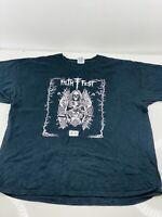 2011 Filth Fest Men's Vintage Short Sleeve Crew T Shirt Size XL Black