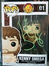 Kenny Omega ALL IN Autographed Pops figure WWE WWF NXT ROH