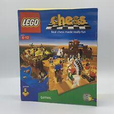 Lego Schach-Big Box PC Spiel - 1998-komplett-selten nicht Minifiguren Version