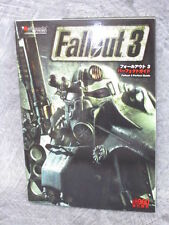 FALL OUT FALLOUT 3 Perfect Game Guide Book Japan XBox FREESHIP EB6398*
