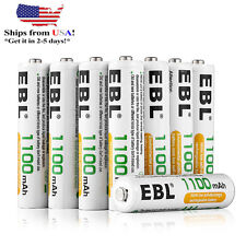 16 x Ebl Aaa 1100mAh 1.2 V R03 Ni-Mh Rechargeable Battery for Camera Mp3 Rc Toys