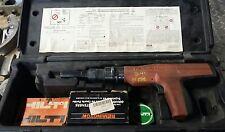Remington 496 Powder Actuated Stud Fastener Nail Gun in Case