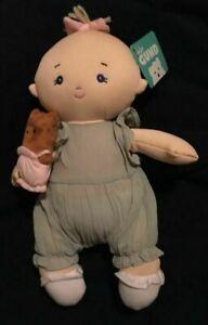 "Baby Gund Doll 13"", Baby Doll Romper"