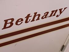 """VINTAGE BETHANY DECAL 24"""" STICKER"""