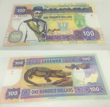 100 Dollars Sarawak test Specimen Banknote Private Issue Matej Gabris