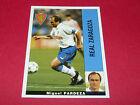 MIGUEL PARDEZA FUTBOL REAL ZARAGOZA PANINI LIGA 95-96 ESPANA 1995-1996 FOOTBALL