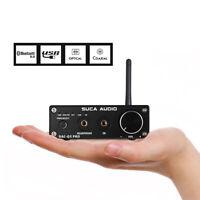 HiFi Bluetooth 5.0 USB DAC Stereo Receiver Coax/OPT Audio Decoder Headphone Amp
