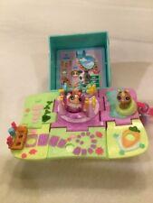 Littlest Pet Shop Teensie Pets Compact House & Pet Bunnies Complete!