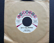 "7"" Dick Dale-Let 's Go Trippin' - US Deltone SURF"