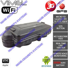 3G GPS Tracker WIFI micro SD 20000mA Yacht Caravan boat Real Live Anti Car Theft