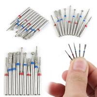 Dental Diamond Burs 1.1mm for High Speed Dental Machine For Dental Clinics 10pcs