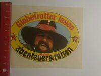 Aufkleber/Sticker: Globetrotter lesen Strebels Abenteuer & Reisen (08011718)