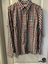 Jump USA medium button-up long sleeve plaid shirt