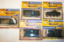 5 ea. ROCO, WW 2, MODEL MINATURES MINITANKS HO SCALE  !!!