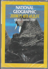 NATIONAL GEOGRAPHIC JOURNEYS WITH WILDLIFE WALRUS TOOTHE TITANS DVD NEW/SEALED
