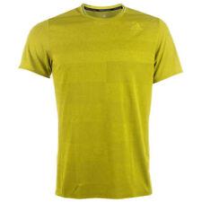 Magliette da uomo adidas verde con girocollo