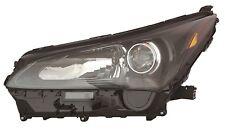 FIT LEXUS NX200t NX300h 2015-2017 LEFT DRIVER HALOGEN HEADLIGHT HEAD LIGHT LAMP