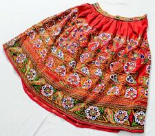 Banjara Ethnic Embroidery Kuchi Tribal Rabari Boho Mirror Belly Dance Skirt