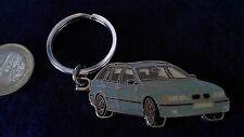 BMW Touring 3er E Schlüsselanhänger Motiv Auto grau Keyring 2 seitig