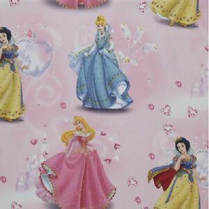 Disney Princess 1 Piece Ready-Made/Curtain L 250 Xb 55 1/8in Sun / Dim Out New