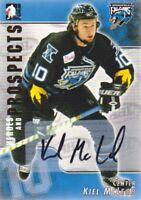 2004-05 ITG Heroes & Prospects Hockey AUTO Kiel McLeod Springfield Falcons