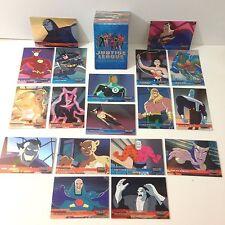 JUSTICE LEAGUE INKWORKS 2003 Complete Card Set w/ 18 FOIL CARDS & 2 PROMO CARDS