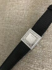 Tiffany & Co. Atlas Collection 18K White Gold  Cocktail Watch with Diamonds