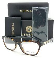 NEW Versace RX Frame Classic Glasses VE3265A 108 54 Dark Havana AUTHENTIC women