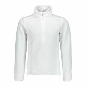 CMP Fleece Pullover Jumper Girl Sweat White Breathable Warming