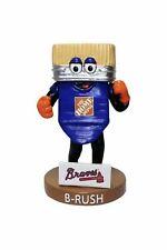 B-Rush Atlanta Braves Tool Race Mini Bobblehead Kids SGA Home Depot