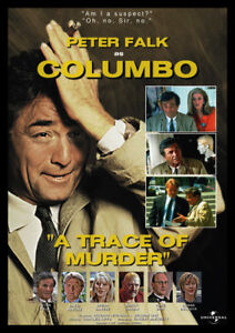 Columbo A Trace Of Murder Repro Advertising POSTER
