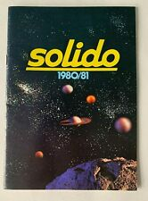 Vintage 1980/1981 Solido Die Cast Toys Color Catalog illustrated cars trucks