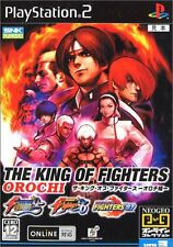 USED The King of Fighters Orochi Collection japan import PS2