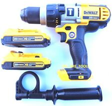 "NEW DeWalt DCD985 20V Cordless 1/2"" Hammer Drill, (2) DCB203 Batteries 20 Volt"