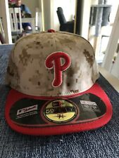 Philadelphia Phillies - USMC Tribute - New Era Hat - Size 7 3/8