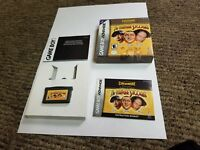 Three Stooges (Nintendo Game Boy Advance, 2002) complete gba