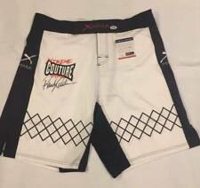UFC MMA Legend Randy Couture autographed signed shorts PSA/DNA COA