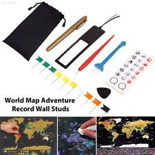 605E Diy Scratch Pen Set Scratch Map Tool Set Novelty 8pcs/Bag for Scratch Map