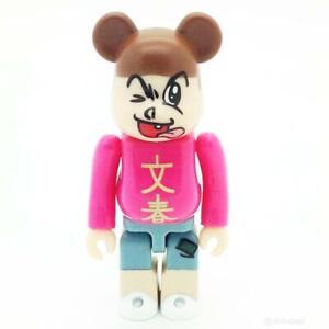 Bunshun HERO Bearbrick 100% Series 34 S34 Be@rbrick Medicom Toy Card Smile Happy